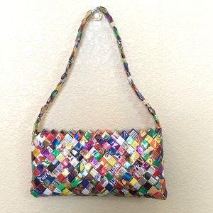 Candy wrapper professionally made handbag